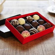 chocolate dipped cake truffles by the cake nest