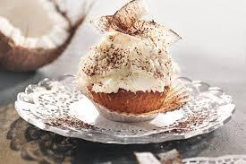 kokos cupcakes mit frischkäse frosting rezept