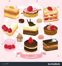 best hd stock vector cake and pastry design illustration cdr 1024x1092