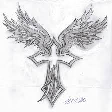 Tribal Wings Cross By Mullen1200