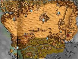 dungeon siege 3 map 12 best map images on map cards and maps