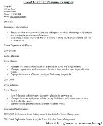 Examples Of Hospitality Resumes Resume Samples For