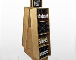 Shelf Wine Bottle Retail Floor Display Stunning Beer Liquor Crates Superior Racks Amiable