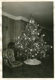 Ebay Christmas Trees With Lights by Vintage Christmas Photograph The Christmas Tree In The City Of