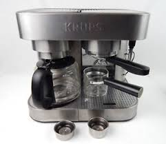 KRUPS XP6040 XP604 Die Cast Espresso Machine And