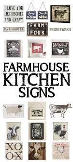 15 Farmhouse Kitchen Signs Farm DecorSigns