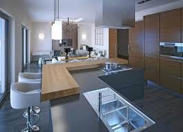 cuisine grise plan de travail bois plan de travail cuisine gris clair plan de travail cuisine gris
