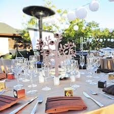 Non Traditional Wedding Reception Centerpieces