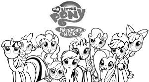 My Little Pony Coloring Pages Pinkie Pie And Rainbow Dash Pictures Printable