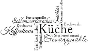 decalmile wandtattoo küche sprüche kaffeehaus küche schlemmerparadies schwarz wandaufkleber zitate küchendeko kaffee esszimmer wanddeko