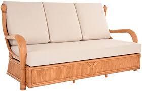 korb outlet edles wohnzimmer schlafsofa rattan sofa prince 3