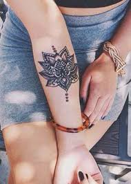 Beautiful Lotus Wrist Tattoo Ideas For Women At MyBodiArt
