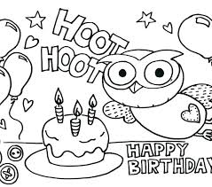 happy birthday coloring pages for adults page best kids free with additional sheets wit happy birthday