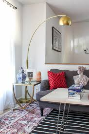 living room makeover final reveal and source list the striped house
