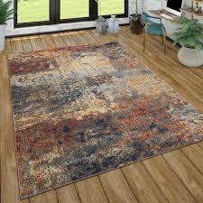 teppich wohnzimmer vintage look mit ethno muster real de