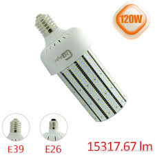 347v 480v 120w led shoebox parking retrofit e39 e40 led corn cob