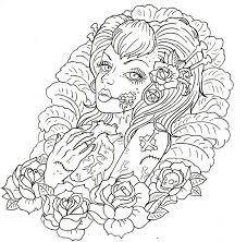Zombie Girl Tattoo By Israels Daughter On Deviantart Design Pixel