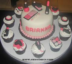 Sweetsusycom Cupcakes 1 Spa Day Birthday