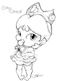 Disney Baby Princess Coloring Pages In