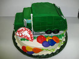 98 Garbage Truck Party Supplies Birthday Cake Catalog Category Boys Birthday