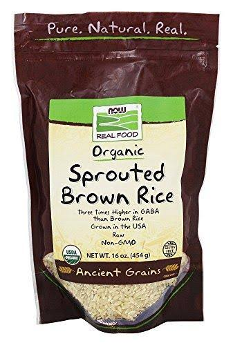 Now Real Food Organic Non Sprouted Brown Rice