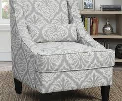 gray and white accent chairs regarding your house living room