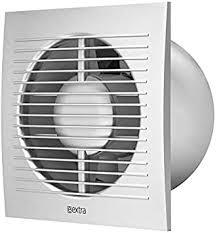 ø 125mm ventilator mit timer silber badlüfter lüfter wandlüfter wc bad küche leise kleinraumventilator