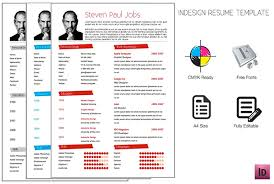 Adobe Indesign Resume Template On Behance