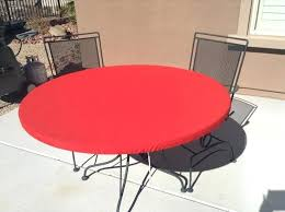 Outdoor Tablecloth With Umbrella Hole Uk by Round Outdoor Tablecloths Indoor Outdoor Round Tablecloths Outdoor