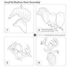 Laser Cut Lamp Plans by Amazon Com Cardboard Safari Recycled Cardboard Animal Taxidermy