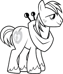 Coloring Pages Mlp My Little Pony Book