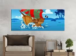 möbelaufkleber für ikea stuva fritids bank mit kasten kinderzimmer pirat piratenschiff insel wasser meer kat2 fahne schiff stf1 aufkleber