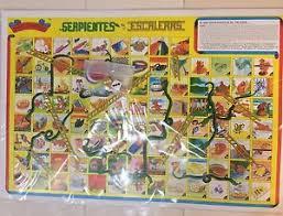 Image Is Loading Mexican Serpientes Y Escaleras Authentic Original 6 Games