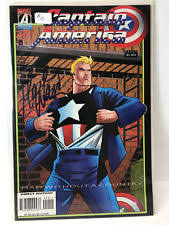 Captain America 450 Vol 1 1968 1996 Marvel Comic Signed By Mark
