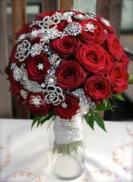 Design by Flor Eterna Wedding and Event Flowers black red roses