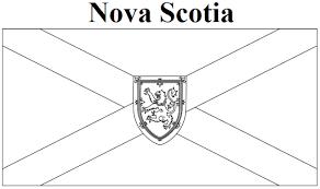Nova Scotia Flag Clipart