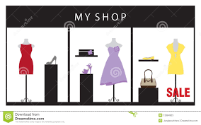 Clothing Store Stock Vector Image Of Garment Boutique