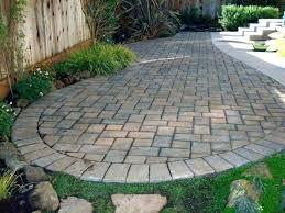 Brick Pavers Cost Marvelous Design Concrete Cost Magnificent And