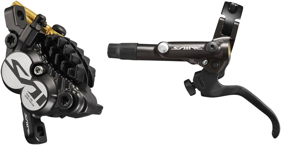 Shimano Saint BL-M820-B/BR-M820 Disc Brake & Lever - Front, Hydraulic, P