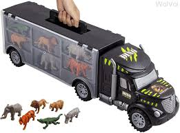 Amazon.com: WolVol Hand Carry-On Wild Animals Transport Car Carrier ... Tonka Wikipedia Toys Trucks Books In Norwich Norfolk Gumtree 2019 Magic Inductive Truck Follow Drawn Line Car Toy For Kids Surprise Deal Big Save Childrens Day Gift Boys Colctible Cute Animal Model Dinosaur Panda Vintage Galoob The 4 X 1984 Toy Truck Nice Working Trucks For Toddlers Dump Playing Scoop Rescue Shapesorting Sense Nothing Can Stop By Nostalgia Zmoon Transport Carrier With 6 Mini 116th Little Buster Toys Black Angus Cow Cheap Transporter Find Deals On