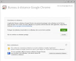 bureau à distance chrome comment contrôler une machine à distance avec chrome
