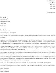 Blog Editor Cover Letter] 88 images how to write a letter the