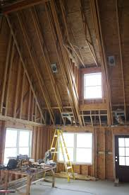 Insulated Cathedral Ceiling Panels by Vaulted Ceiling Home Lighting Insight