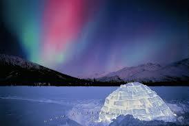 Northern Lights Igloo Alaska