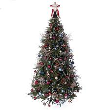 Shop 137 Piece Sophisticated Slim Christmas Tree Decoration Kit At