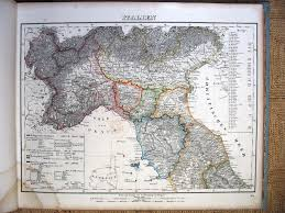 Map Northern Italy 1842 From Stielers Handatlas 2nd Edition 1847 Posted By M Witkam