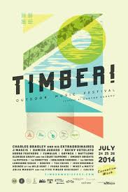 Poster TIIMBER Outdoor Music Festival 2014