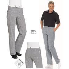 pantalon cuisine ou boulanger femme lavable à 95 c