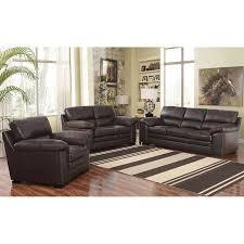 Buchannan Microfiber Sofa Set by Amazing Top Grain Leather Living Room Set