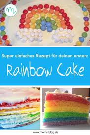 einfaches rainbow cake rezept